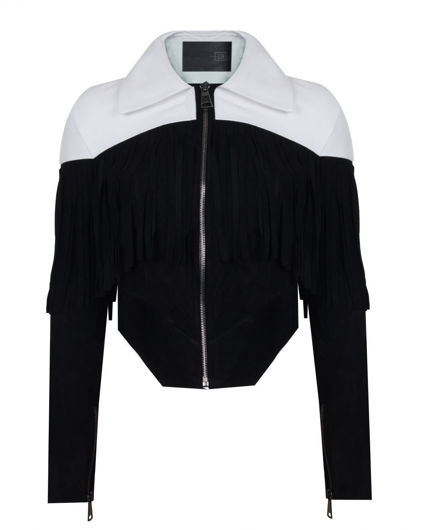 Picture of FRINGED CORSETTE JACKET