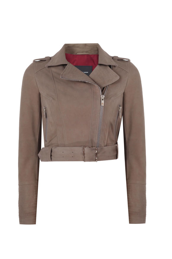 Picture of TAUPE SUEDE CLASSIC JACKET